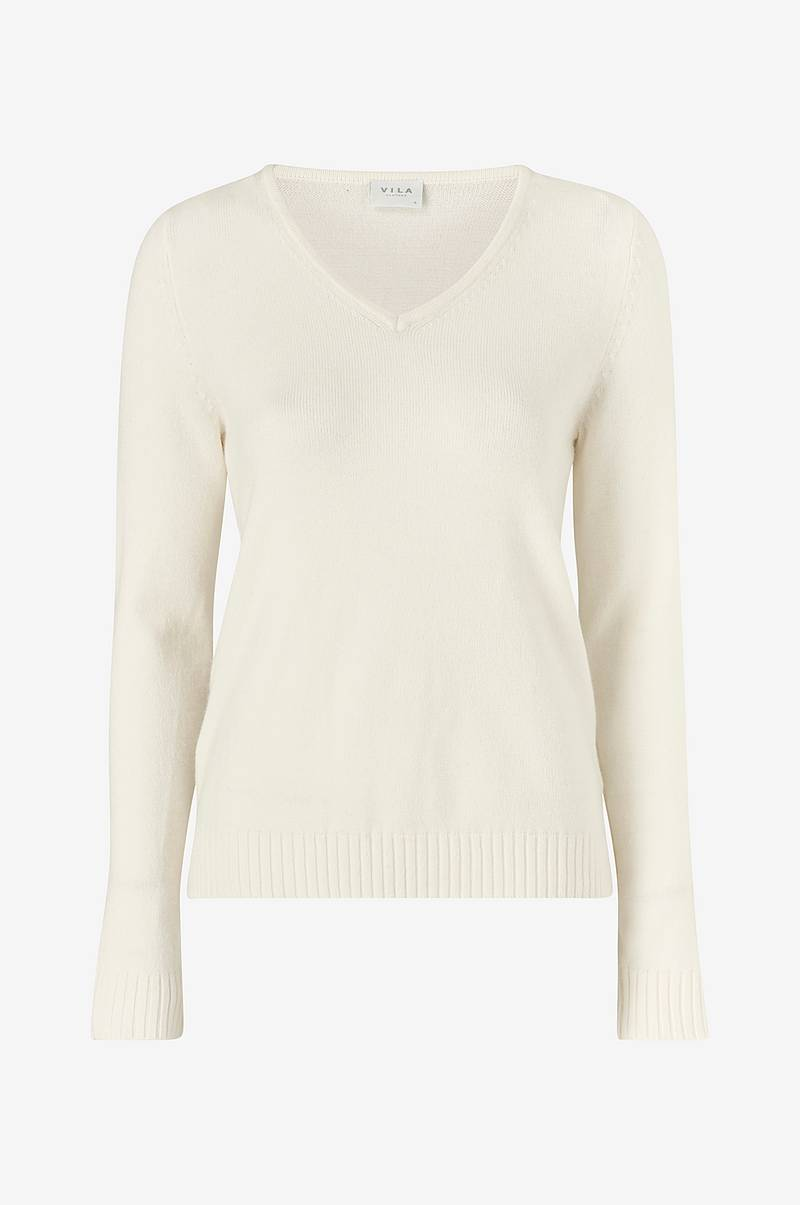 ViRil V neck Knit Top neulepusero