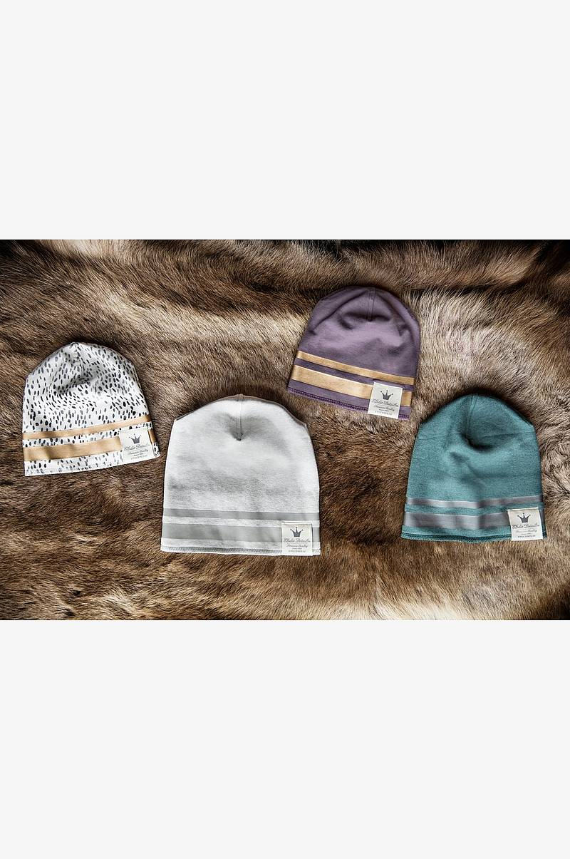 Beanie Gilded Dots of Fauna 1-2y