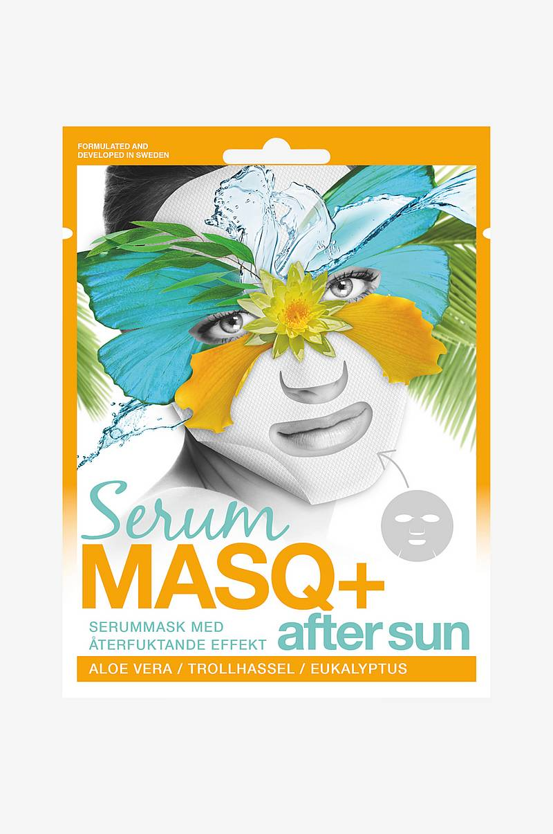 SerumMASQ+ After Sun Sheet mask 1 stk.