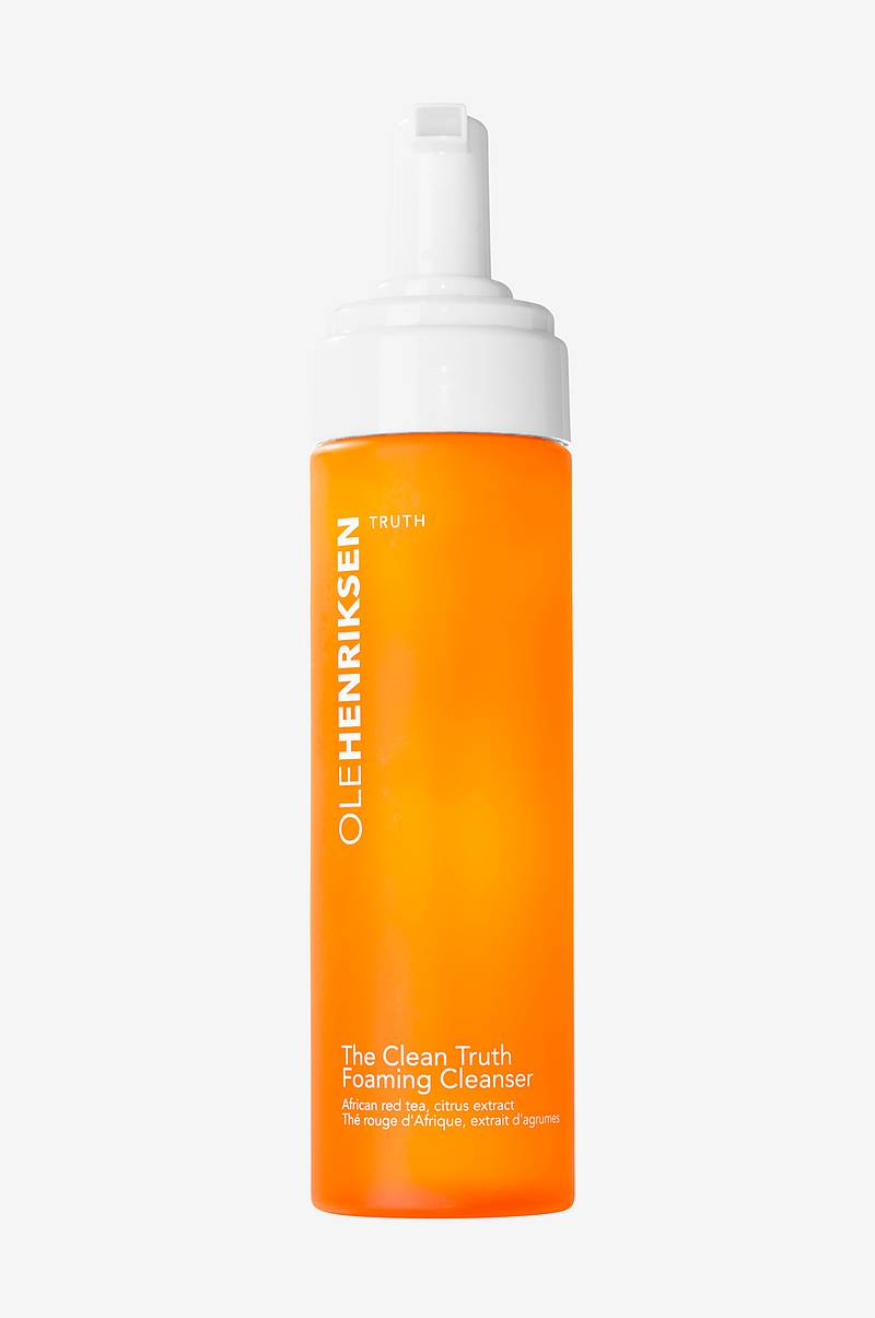 The clean truth foaming cleanser 207 ml - brightens & minimizes fine lines