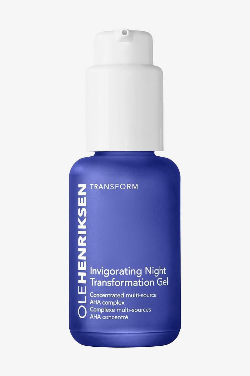 Invigorating Night Transformation Gel - 50 ml - Firms fine lines & wrinkles