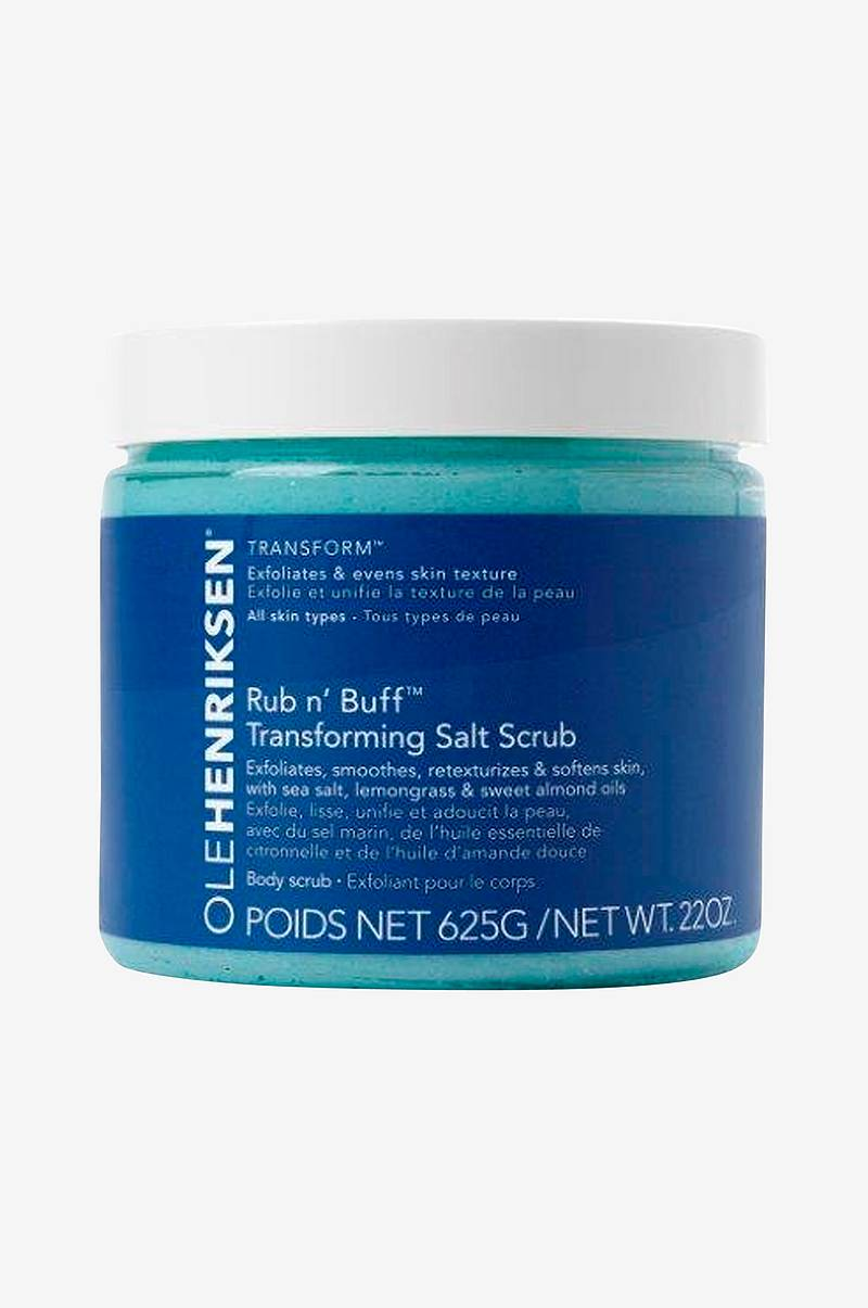 Rub N' Buff Transforming Salt Scrub - 500 ml - Firms fine lines & wrinkles