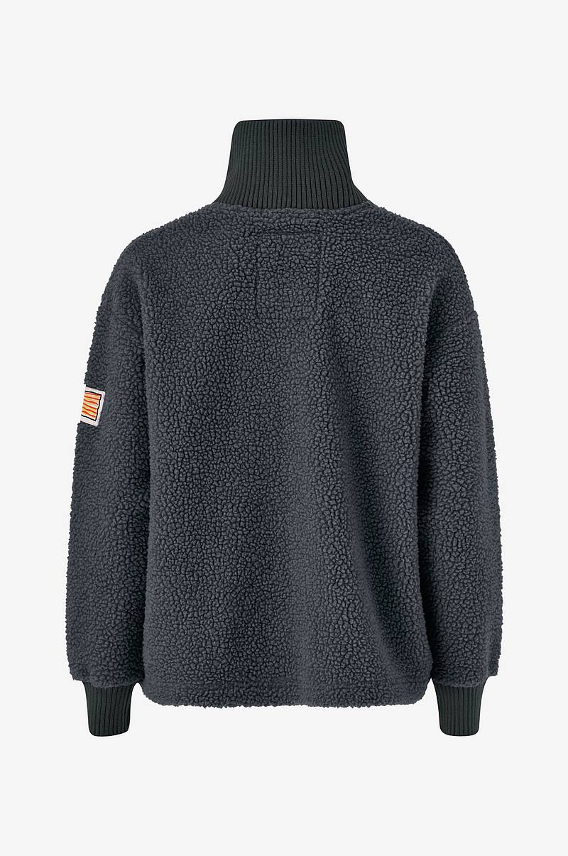 Trøje Kathryn Pile Zip Sweater