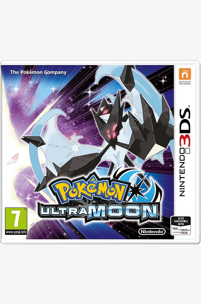 Pokémon Ultra Moon peli 3DS