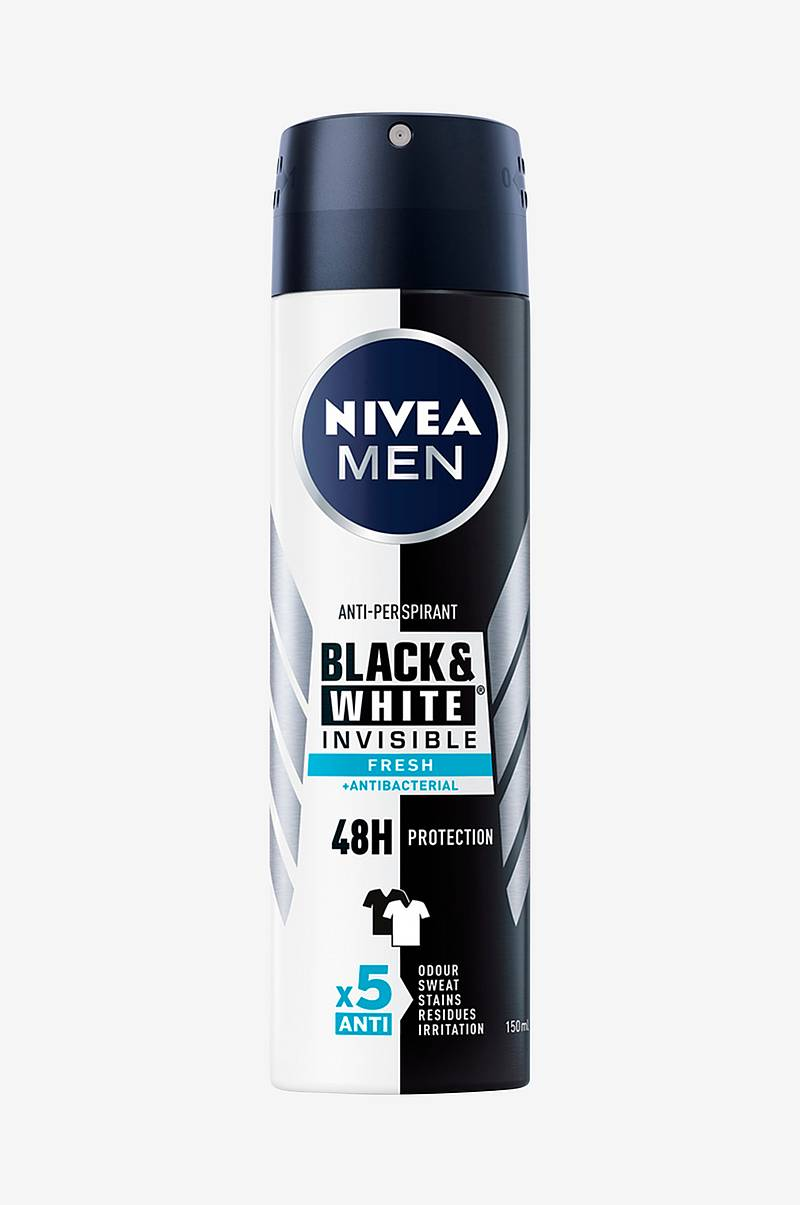 Deo Invisible Black&White Fresh Spray 150ml