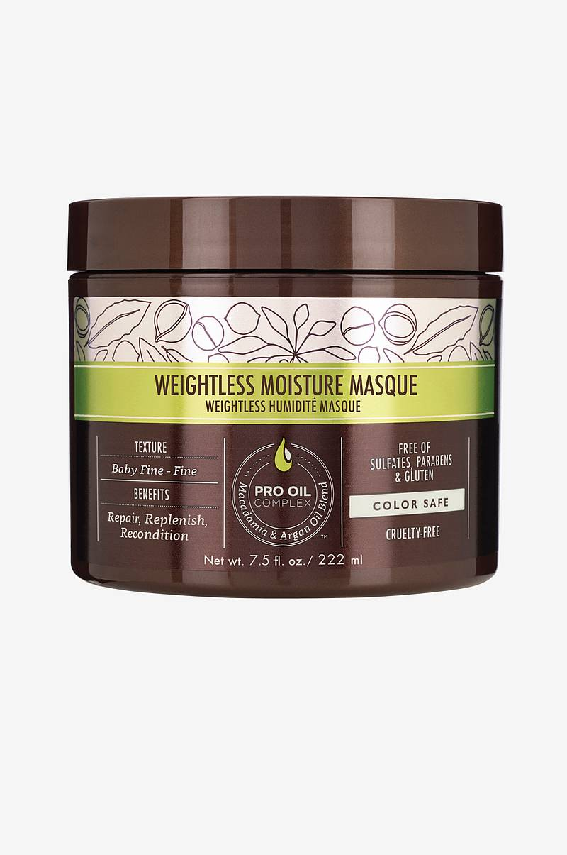 Professional Weightless Moisture Masque naamio, 236 ml