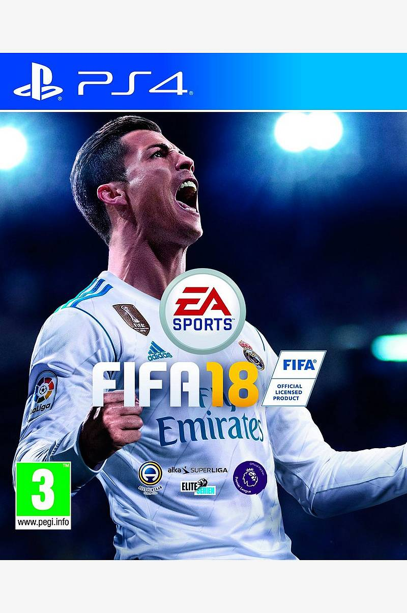 Fifa 18 Spil PS4