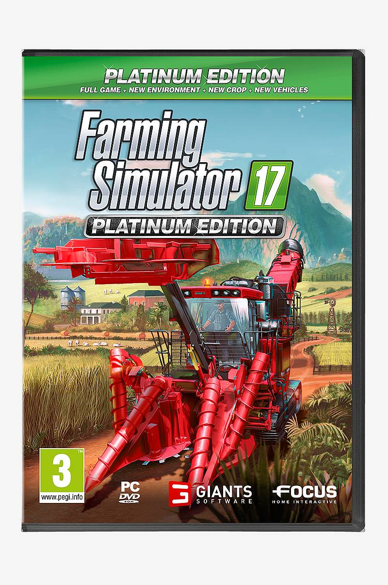 Farming Simulator 17 Platinum Edition Spil PC