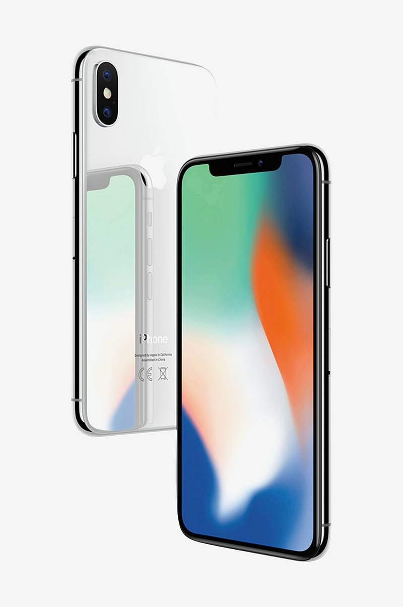 iPhone X, 64 GB Silver