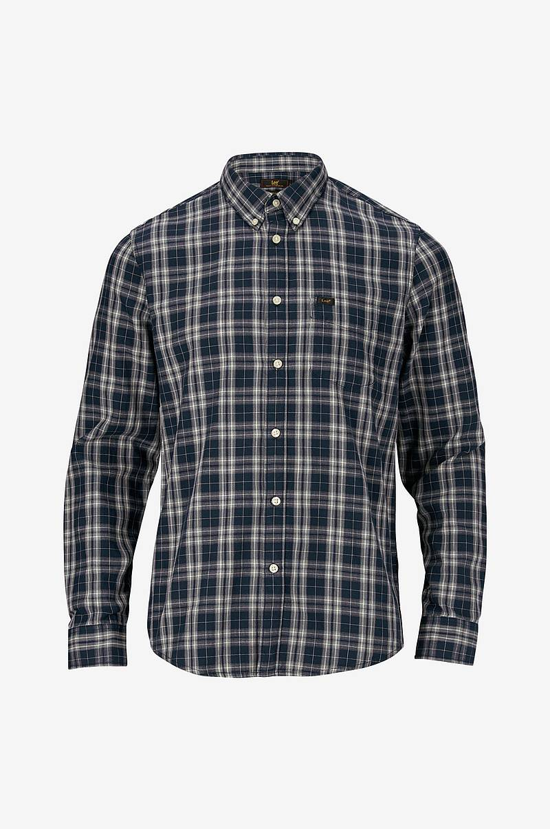 Skjorta Button Down Navy Drop