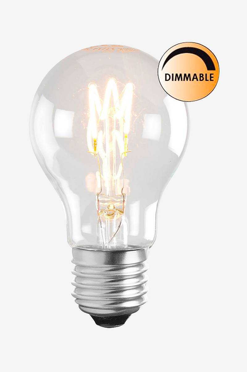 Ljuskälla LED Soft Filament Dimbar Klar Normal