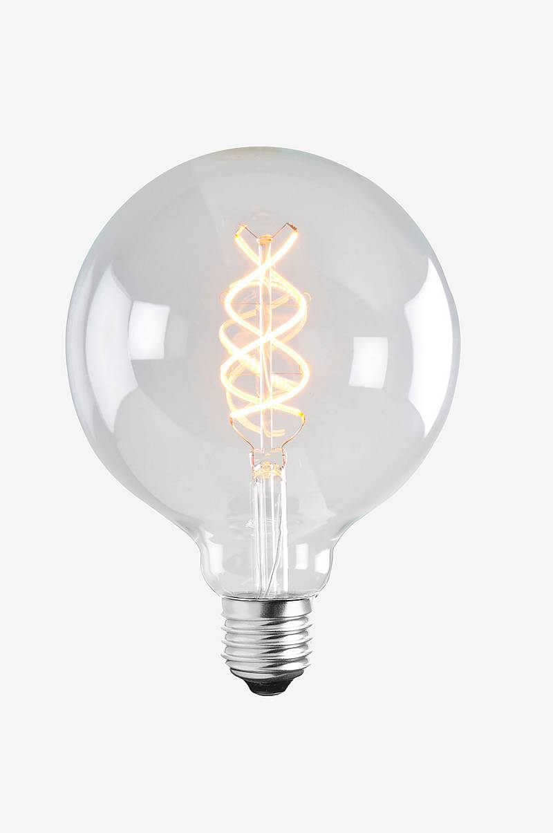 Ljuskälla LED Soft Filament Dimbar Klar 125 mm