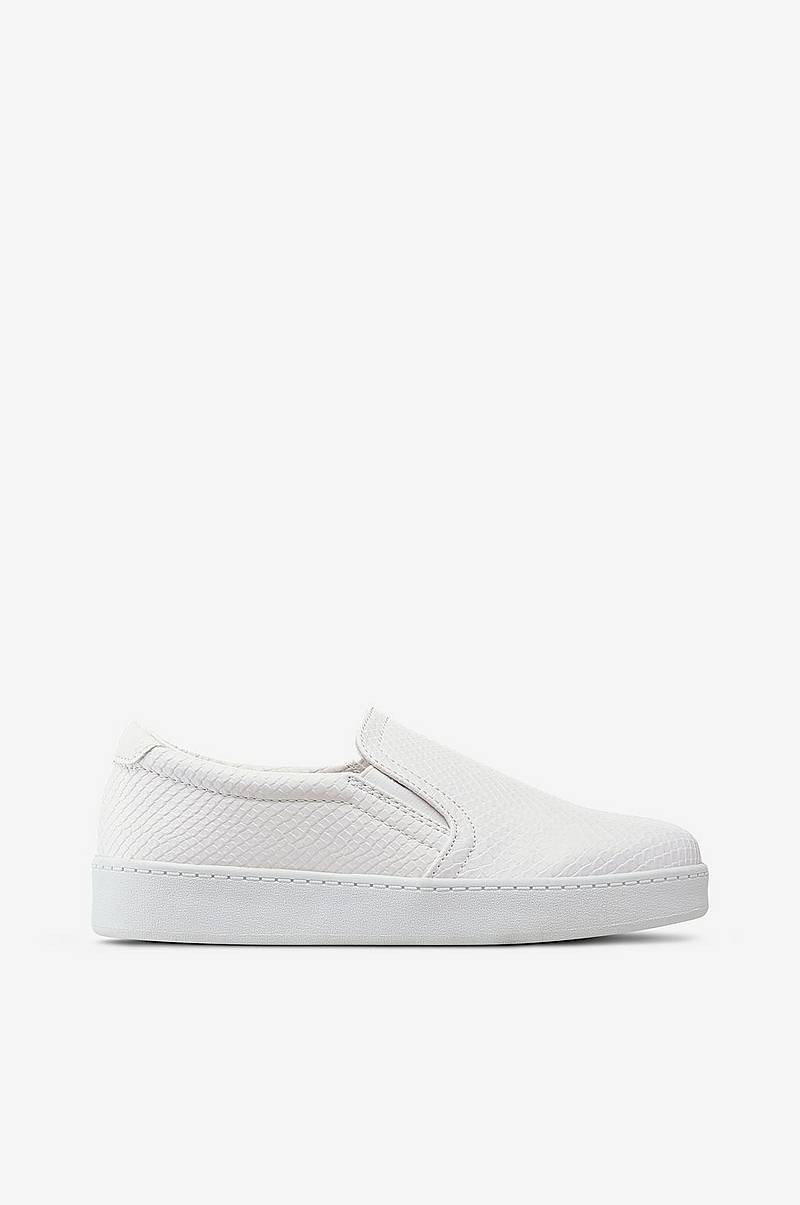 Sneakers slip-on krokopreget