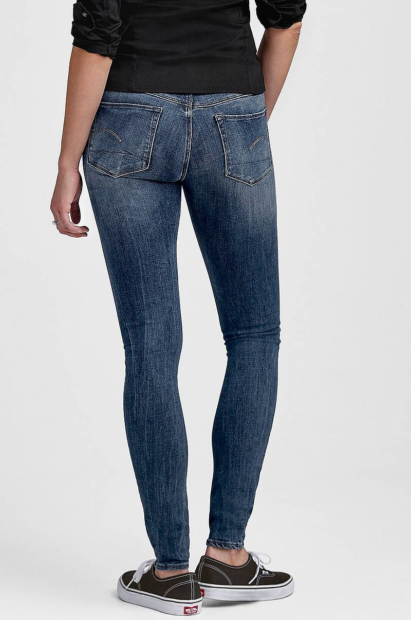 Jeans 3301 d-Mid Super Skinny