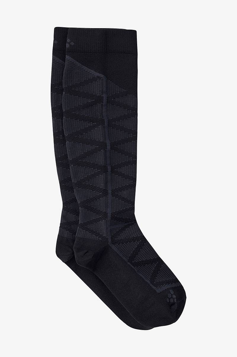 Strømpe compression pattern sock