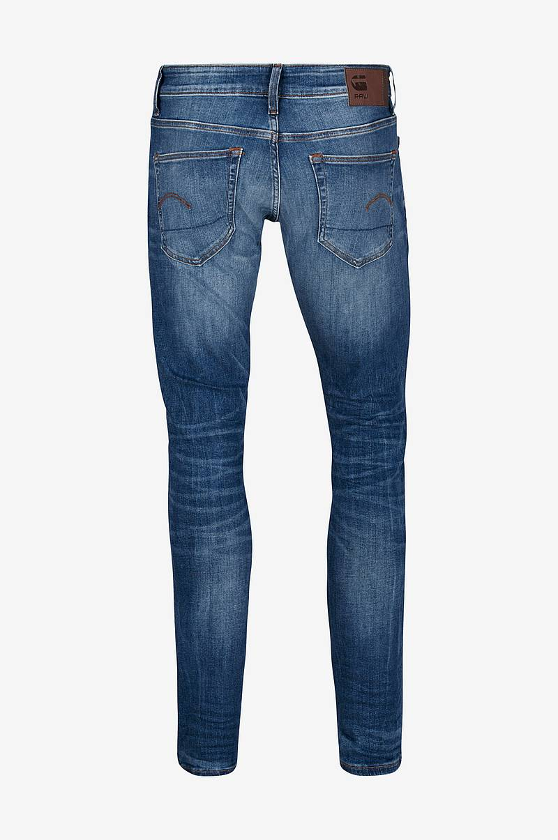 Jeans 3301 Deconstructed, super slim