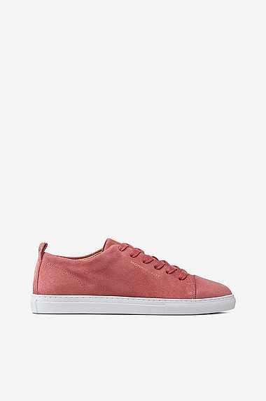 Dame Sko Gant Blå Sneakers Linda af satin og ruskind Rabat