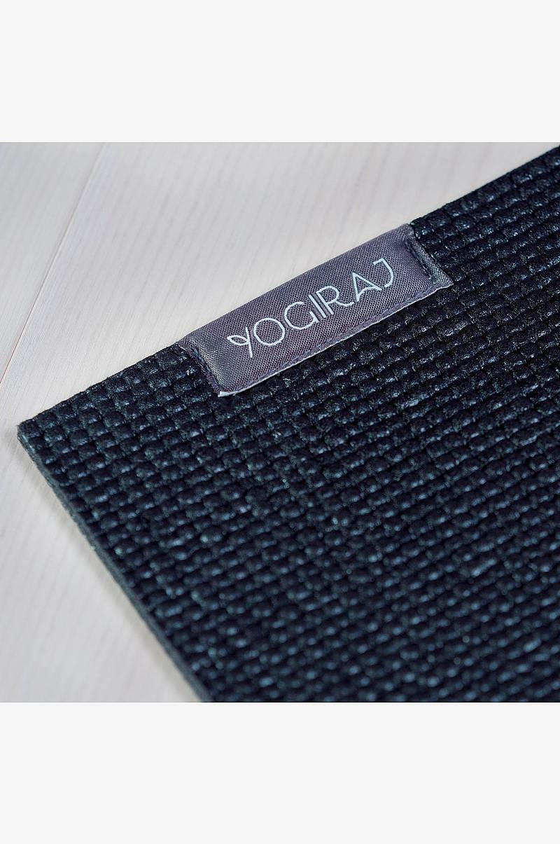 All-round Yogamåtte 4 mm, sort