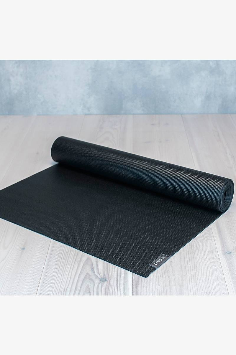 Yogamatte All-round 4mm svart
