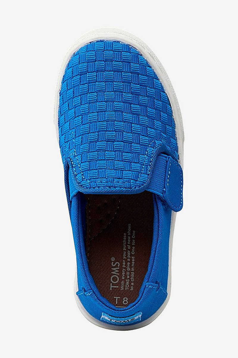 Sneakers Luca Blue Basketweave