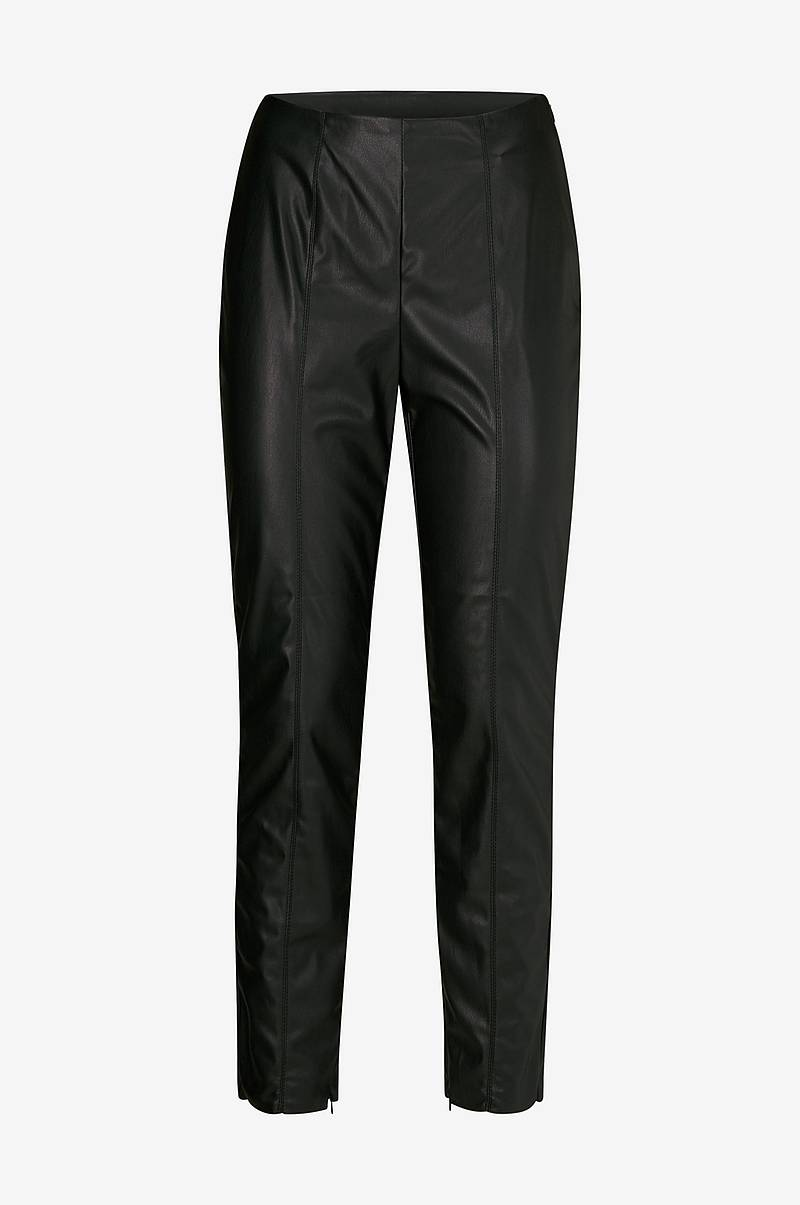 Leggings viPale Faux Leather 7/8