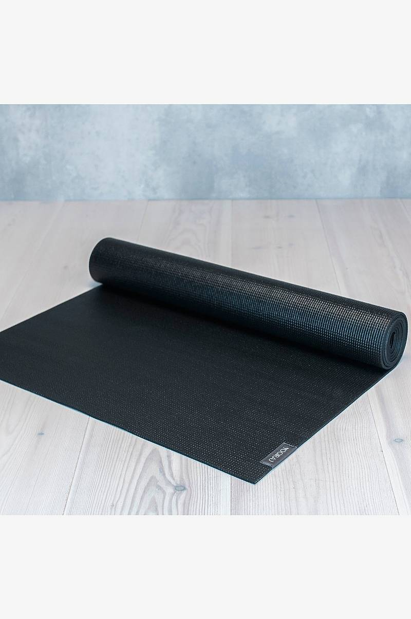 Allround yogamatta 6mm svart