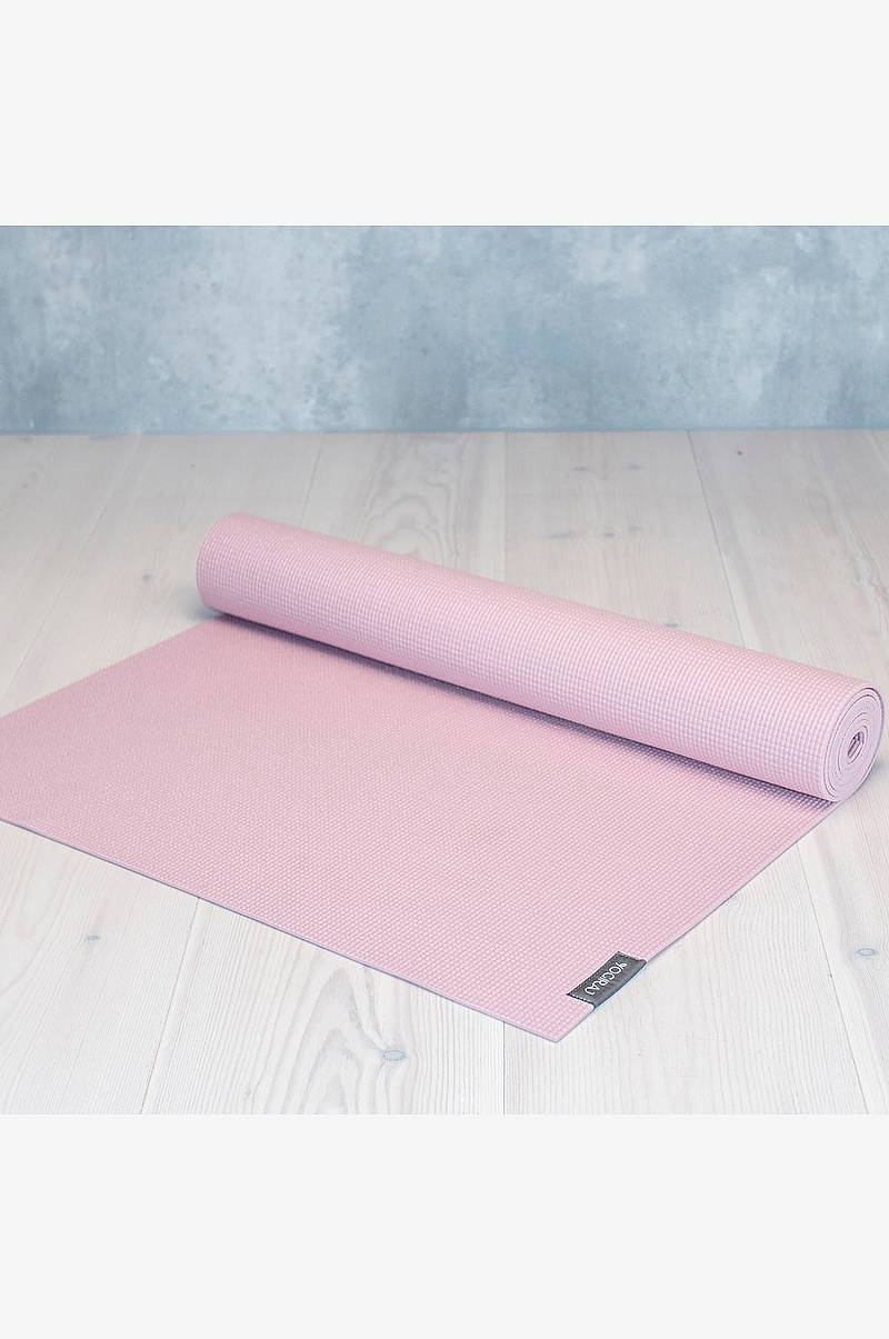 Allround yogamatte 6mm Rosa