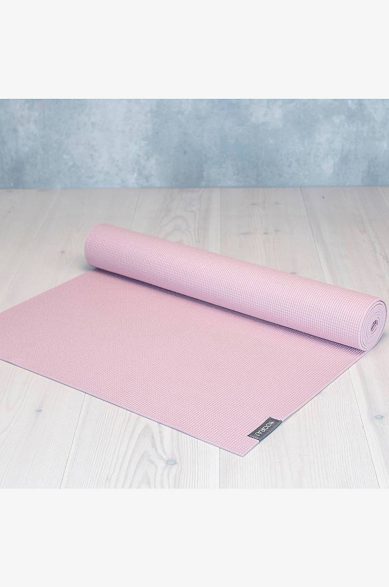 Allround yogamatte 4mm Rosa