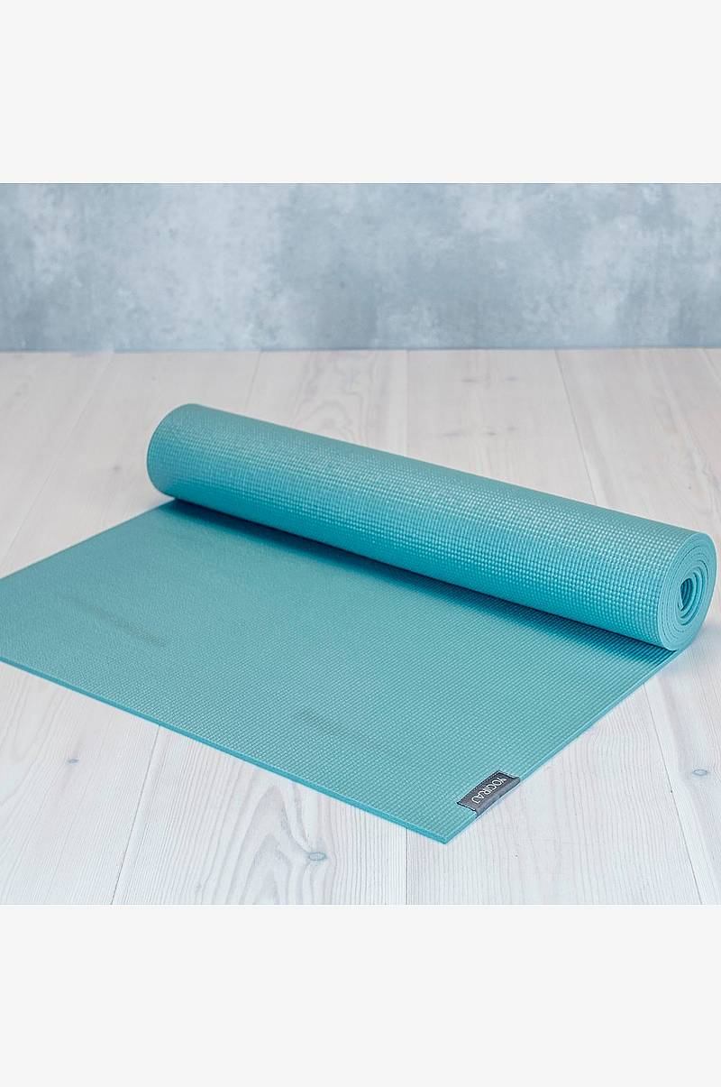 Allround yogamatte 4mm Grønn