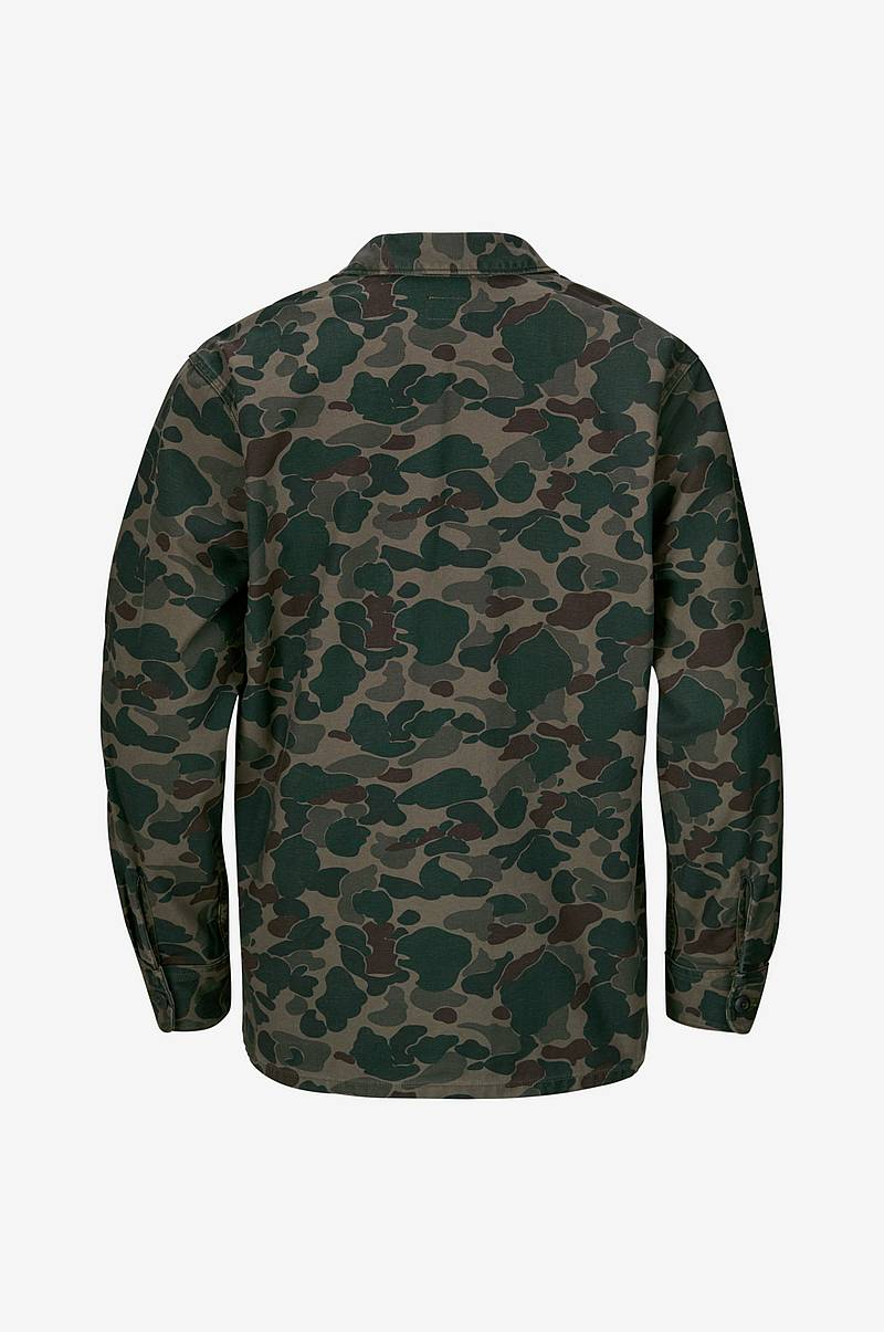 Military Shacket farkkutakki