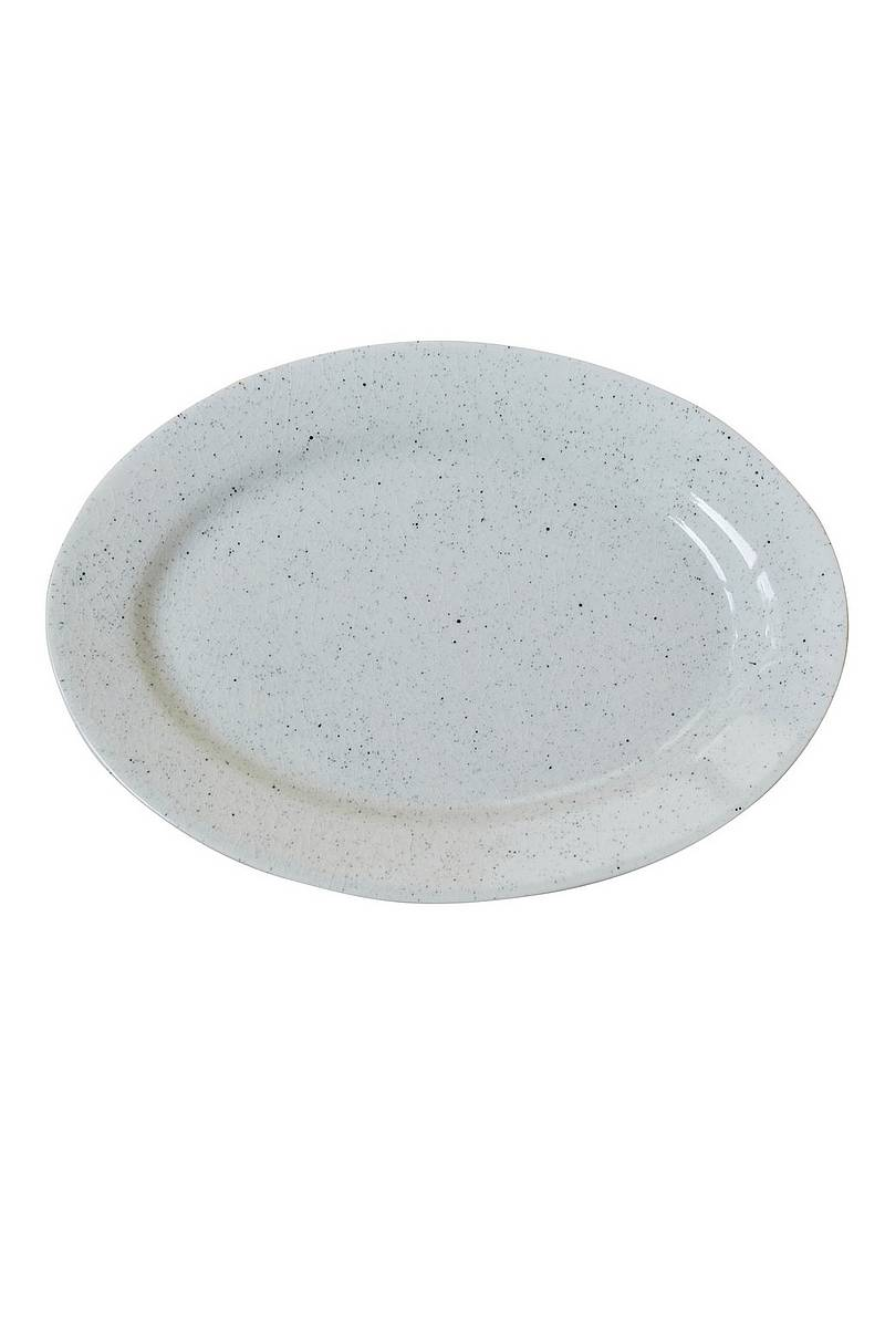 Oval tallrik PURE Stain 32 cm