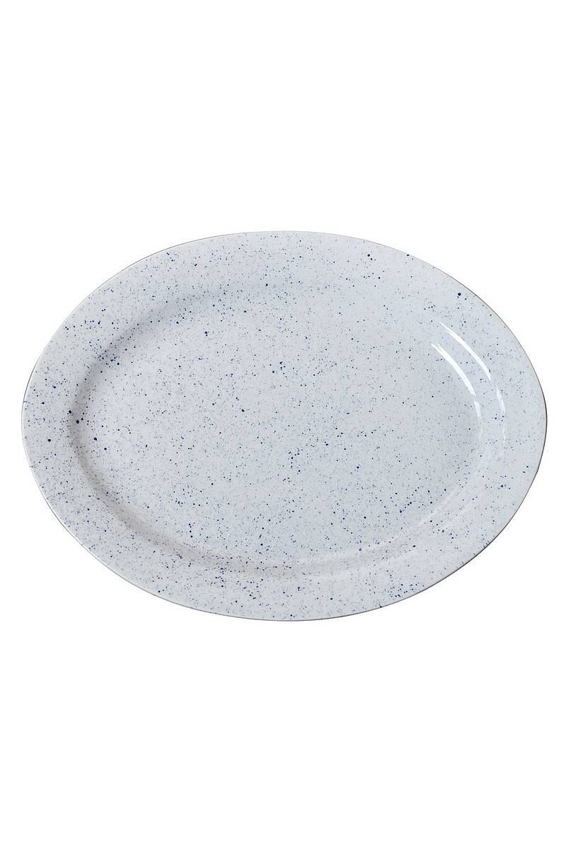 Oval tallrik PURE Stain 37 cm