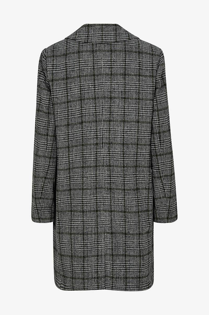 Frakke Check Coat