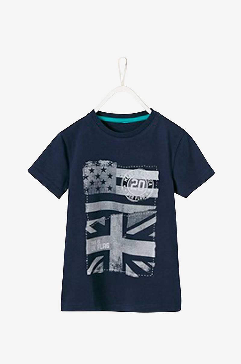 6d6a7058 Stripet T-shirt med trykk