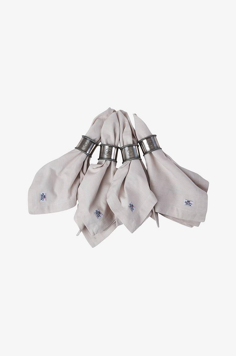 Servett Oxford Striped Napkin