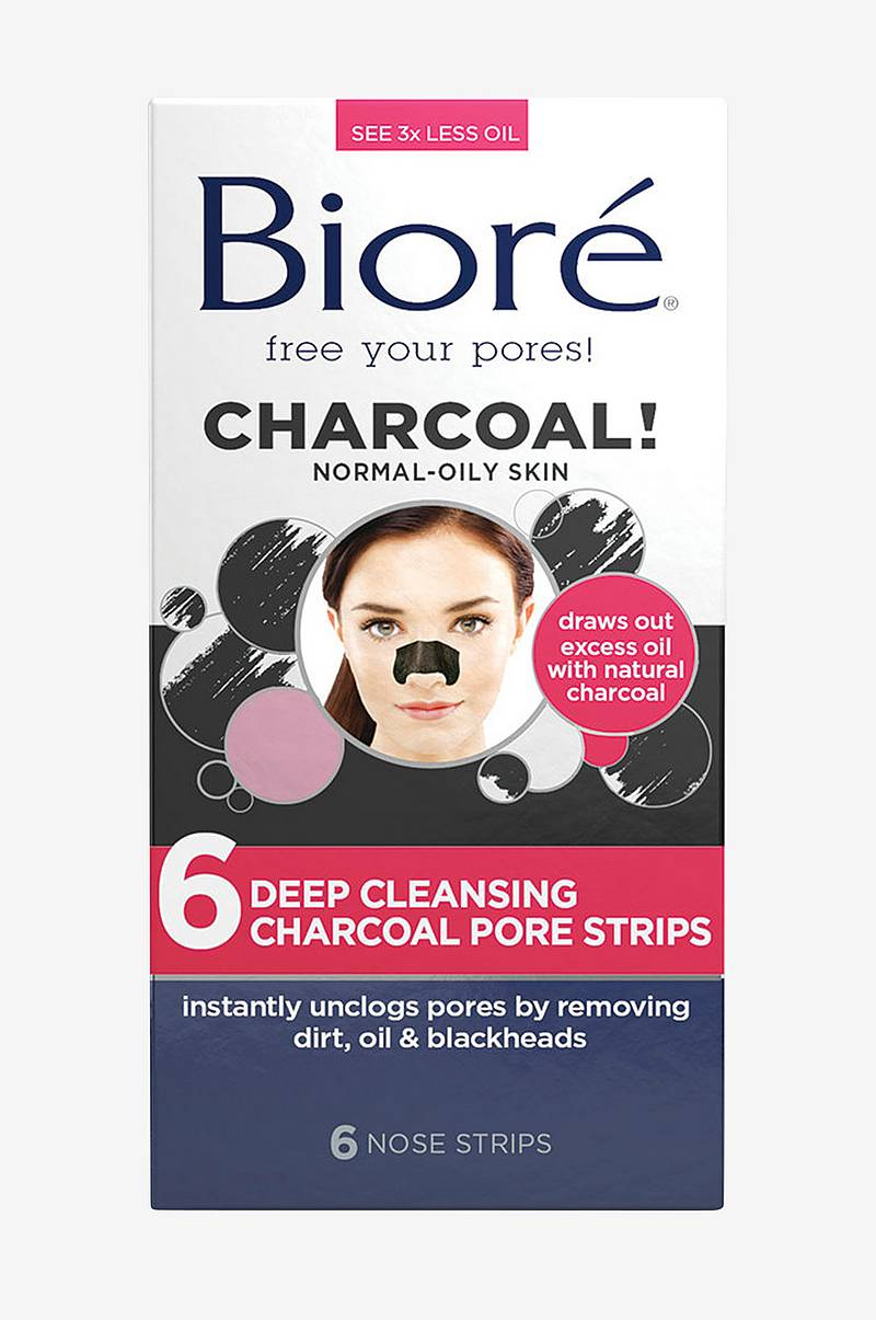 Deep Cleansing Charcoal Pore Strips (6 nose)
