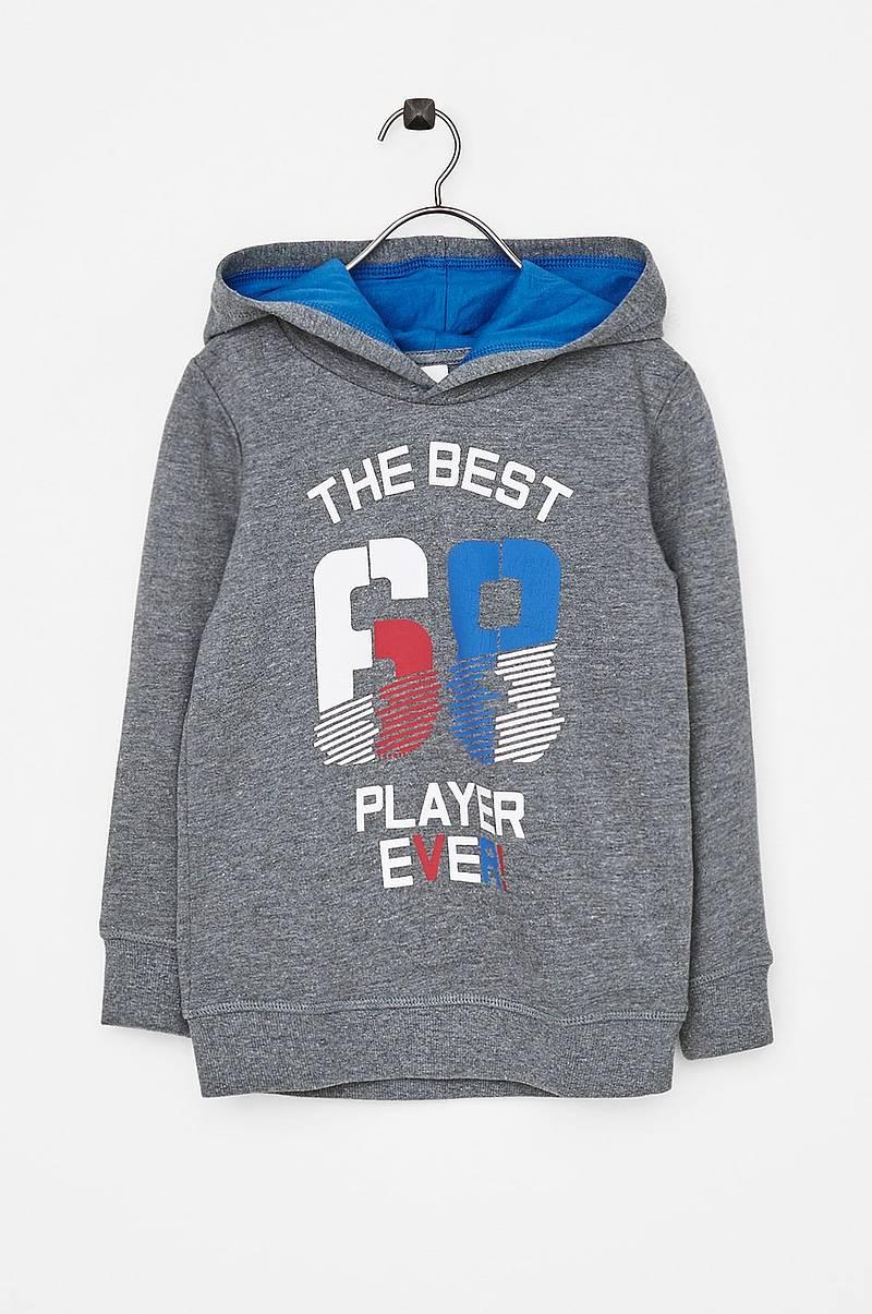 Sweatshirt med tryck fram d383eadba5fc4