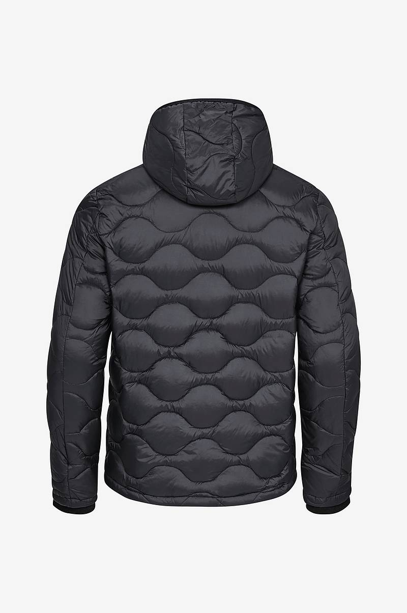 Dunjakke Hooded Down Jacket Dense Nylon