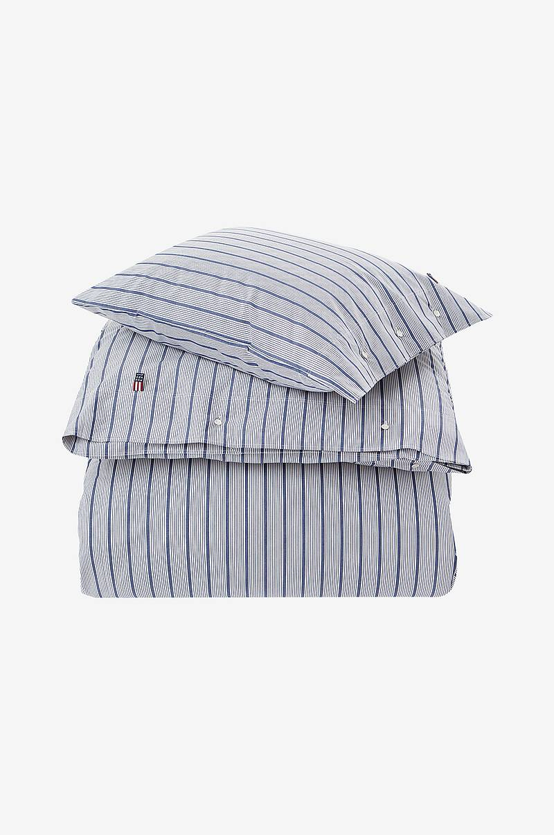 Sengesæt Striped Poplin Set