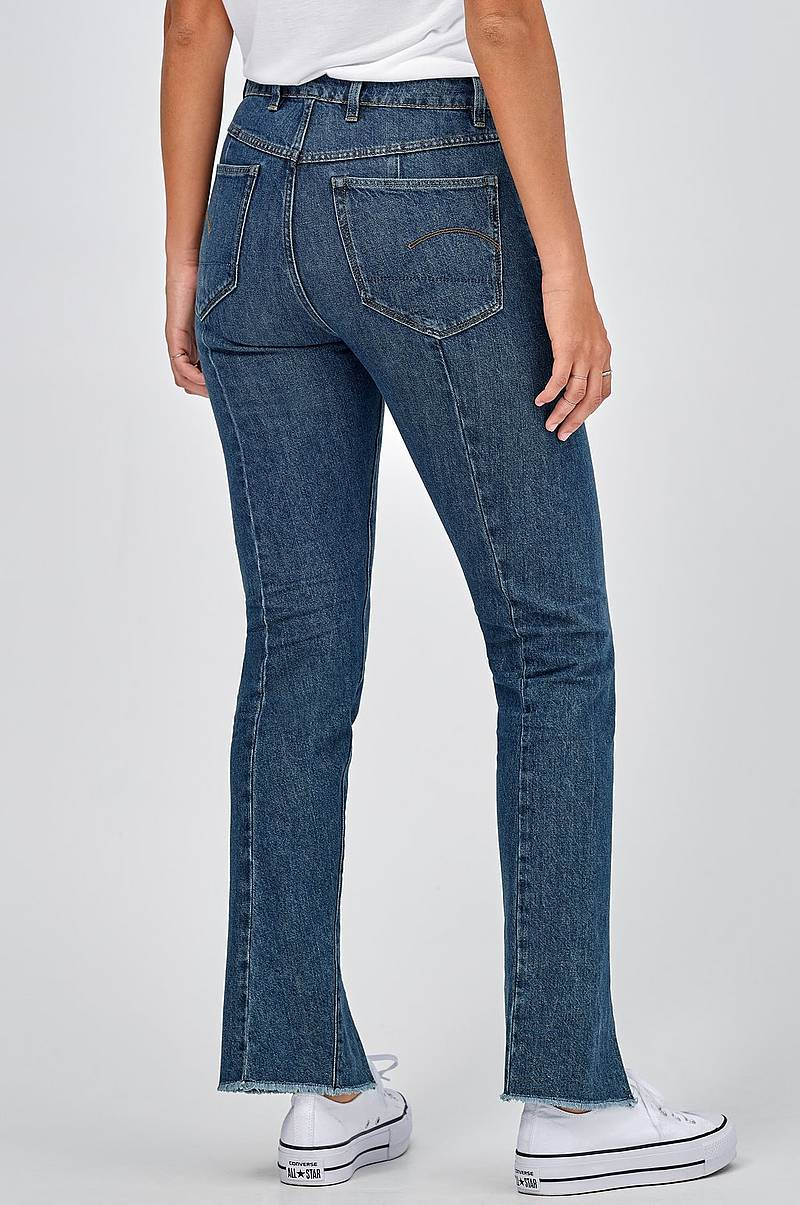Jeans Lanc 3d High Straight 90's RP