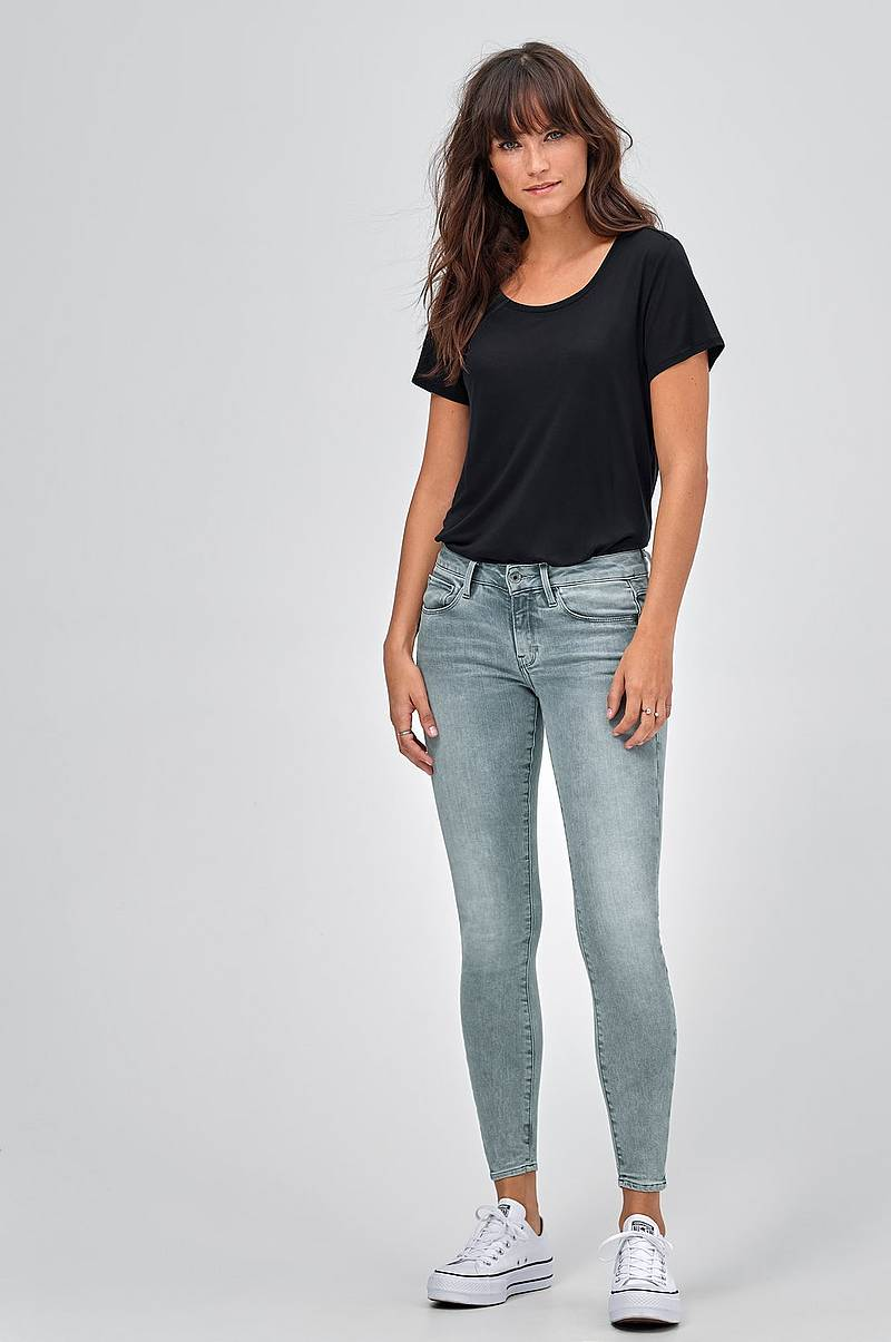 Jeans 3301 Deconst Mid Skinny Wmn