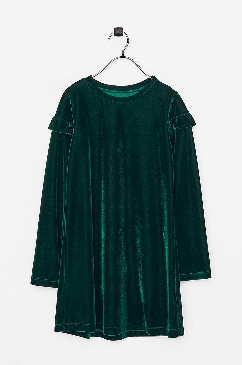 Velourkjole Hanna LS DRESS