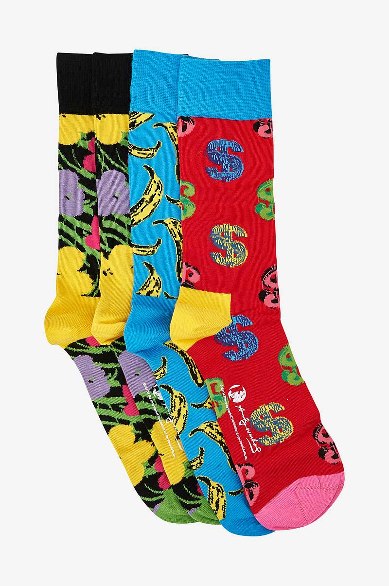 Presentask strumpor Andy Warhol Sock Box Set, 4-pack
