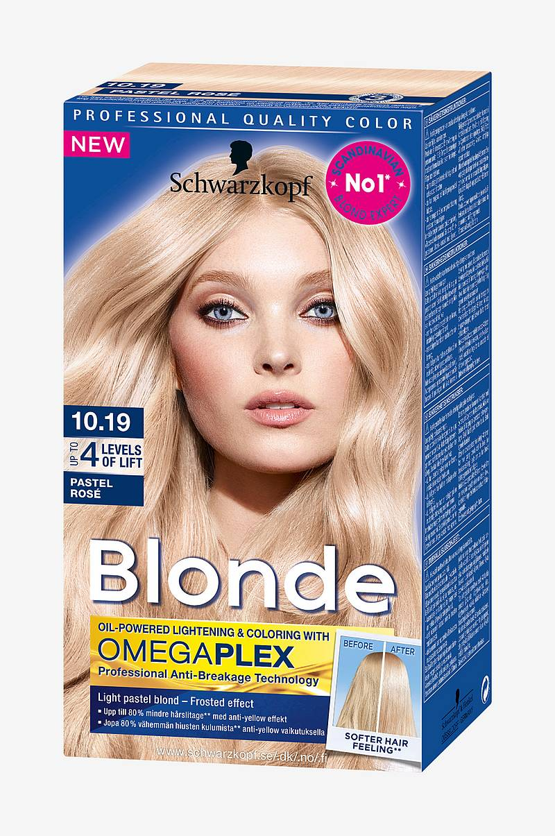Blonde 10.19 Frosted Pastel