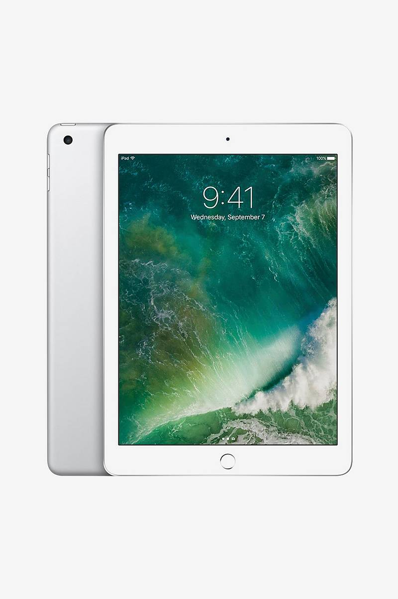 iPad 128GB Wi-Fi Silver MR7K2