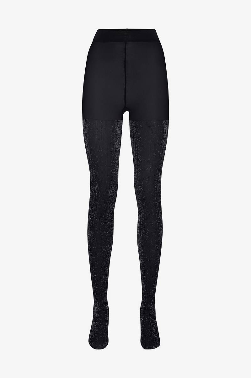 Strømpebukser Lisa Lurex Rib Tights