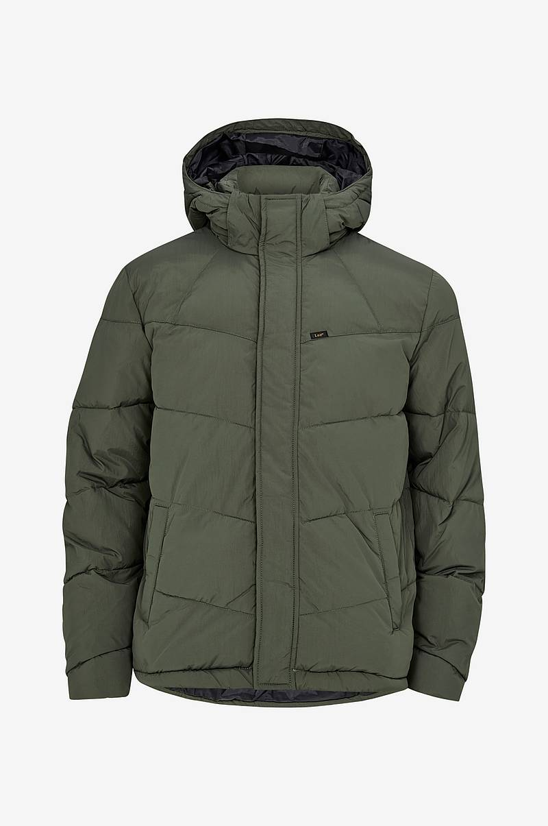Jakke Puffer Grey Green