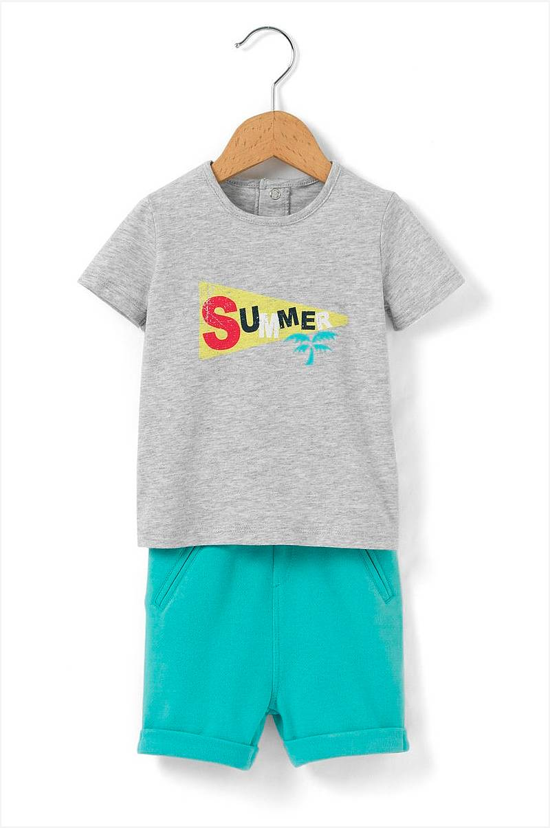 Set - T-shirt & Shorts