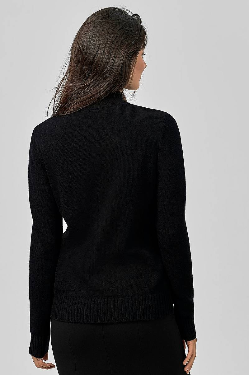 Trøje viRil L/S Turtleneck Knit Top