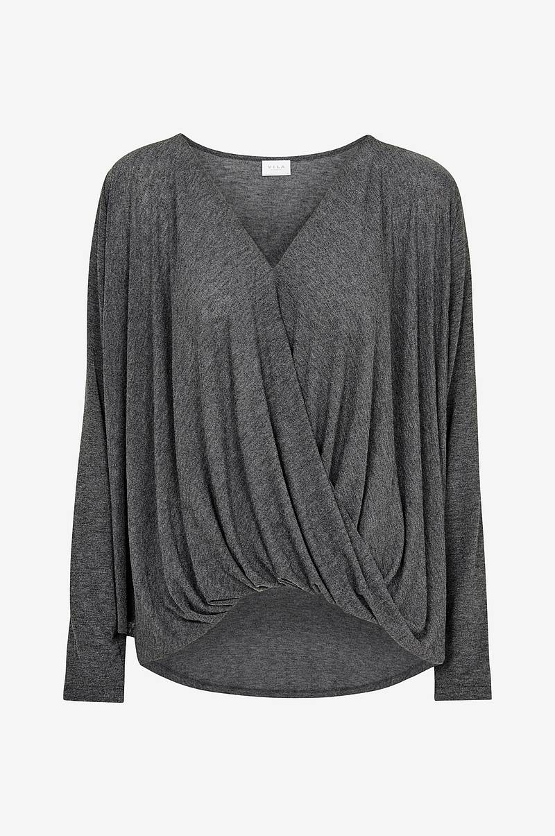 Genser viNexa L/S Wrap Top